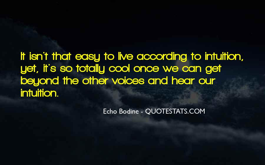 It Isn't Easy Quotes #655329