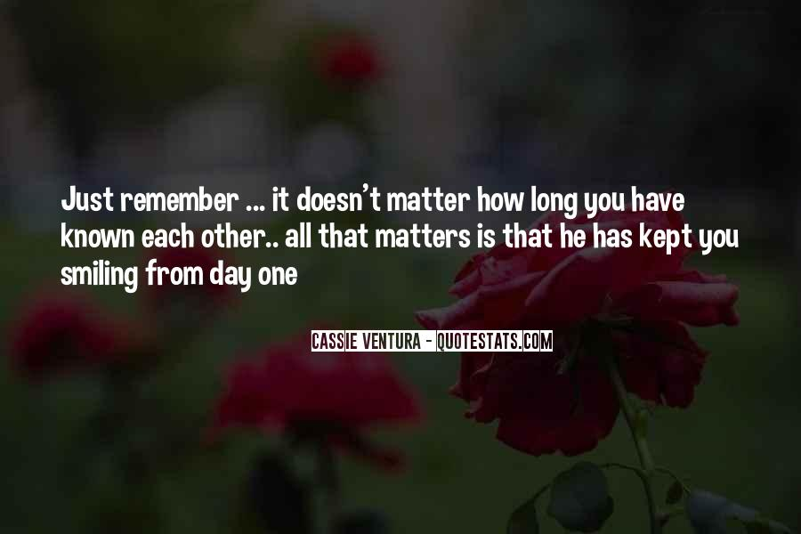 It Just Doesn Matter Quotes #138924