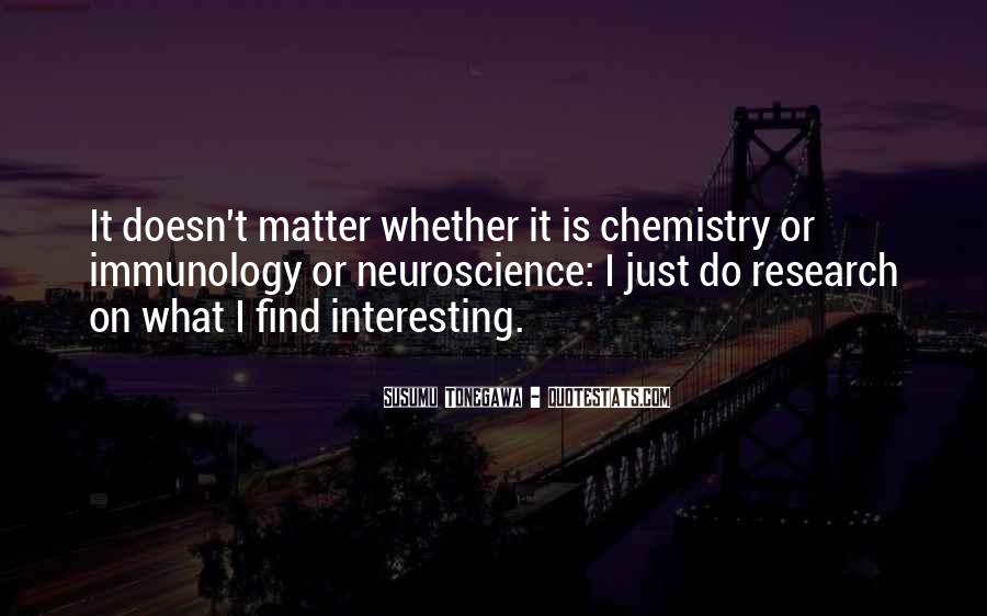 It Just Doesn Matter Quotes #159524
