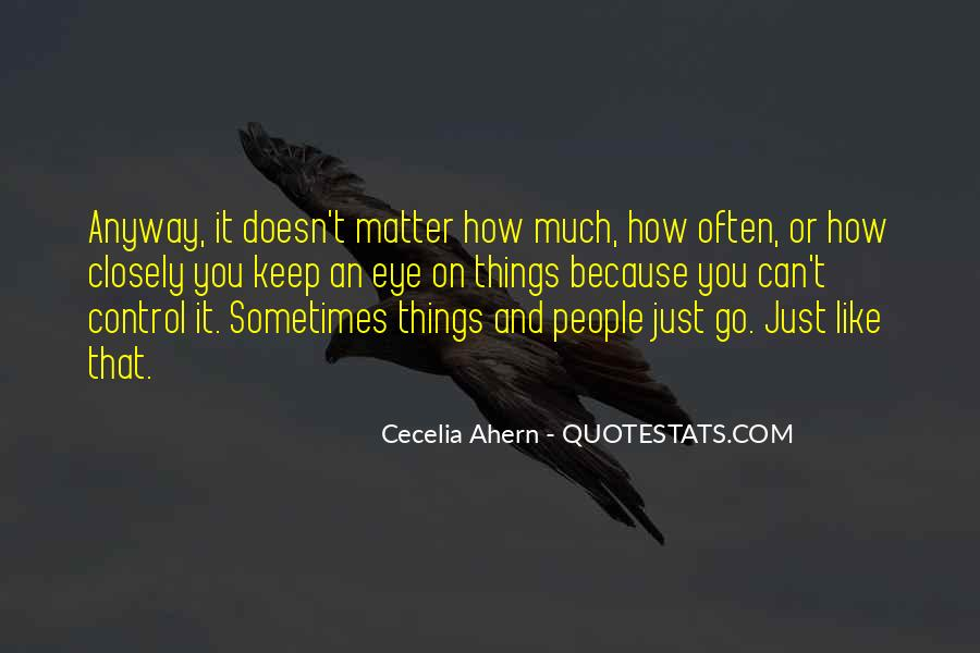 It Just Doesn Matter Quotes #203551