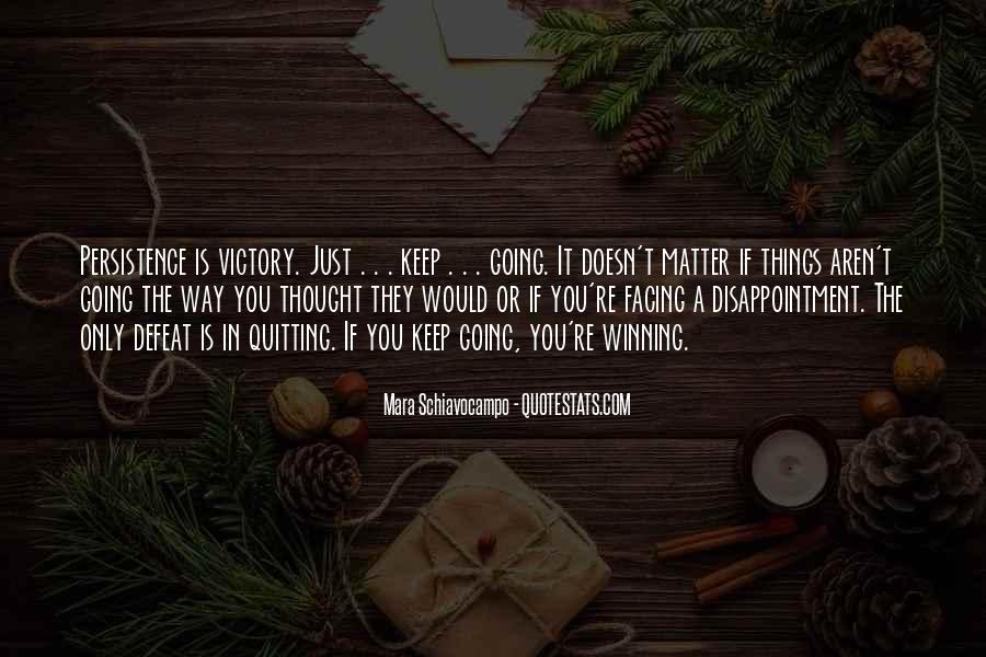 It Just Doesn Matter Quotes #2750