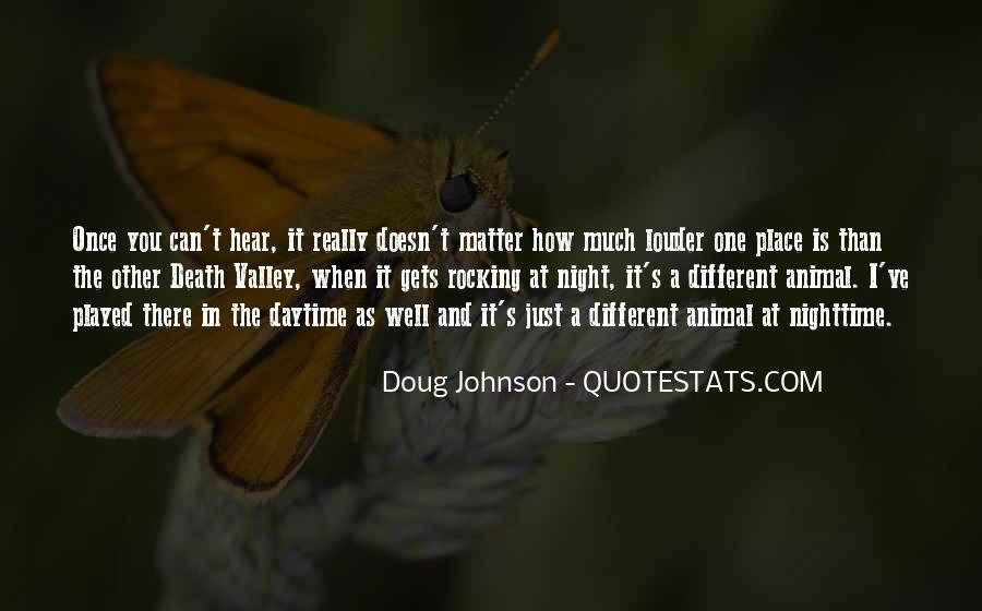 It Just Doesn Matter Quotes #41414