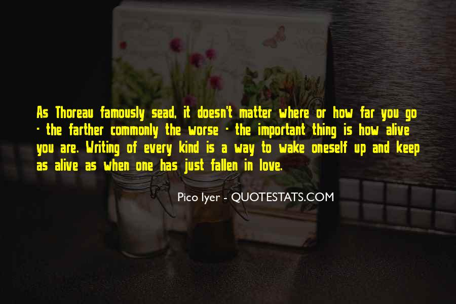 It Just Doesn Matter Quotes #421999