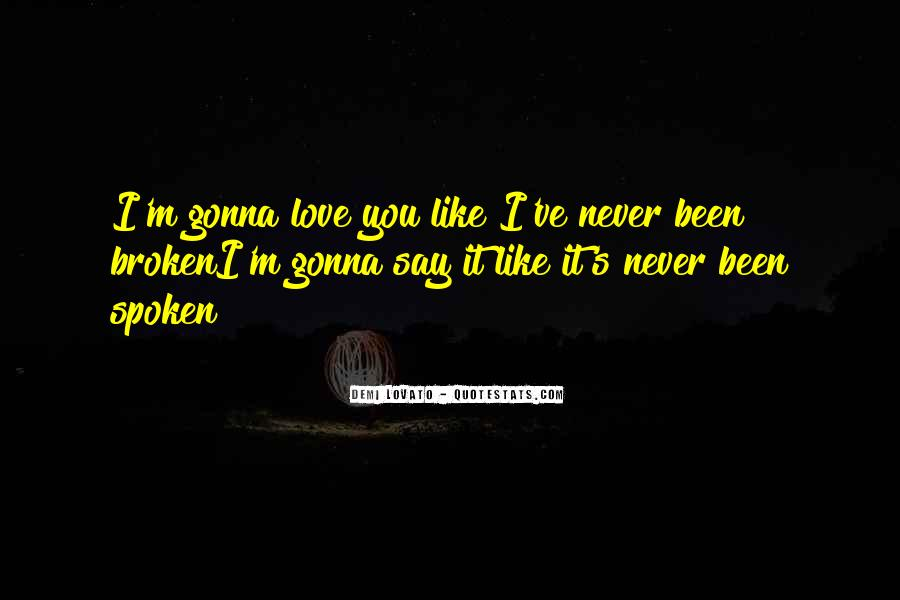 It Must Have Been Love But It's Over Now Quotes #15680