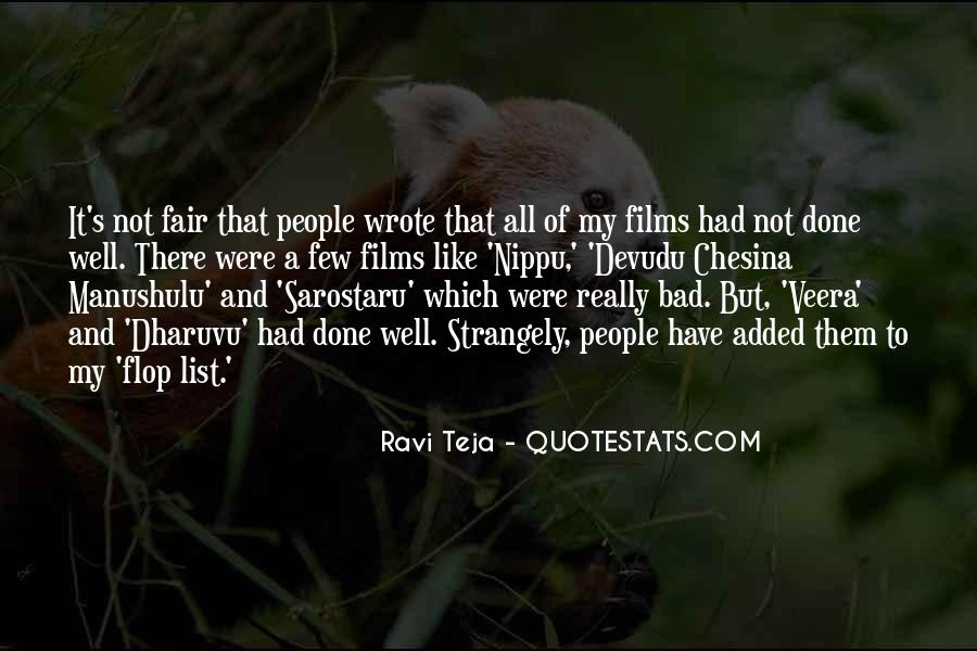 It Not Fair Quotes #410216