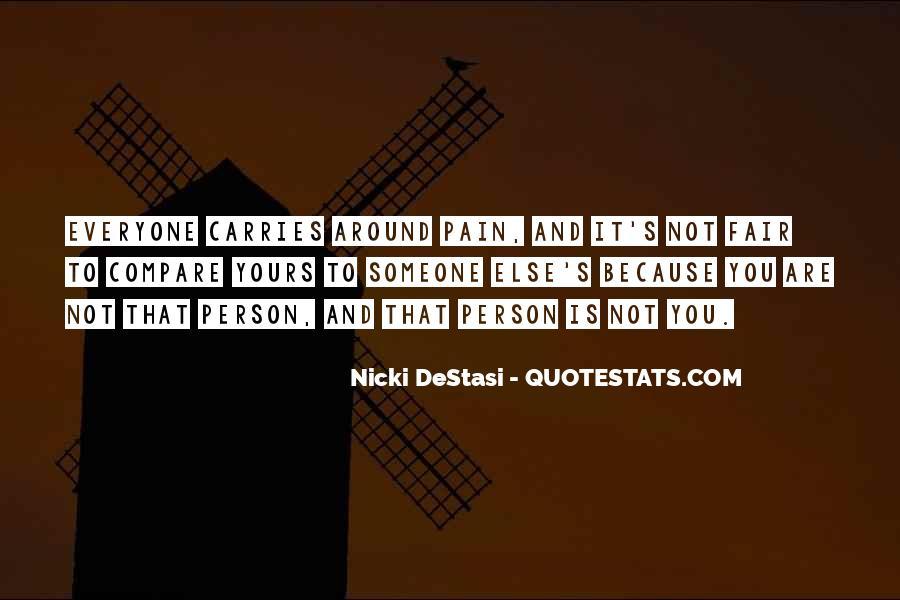 It Not Fair Quotes #92424