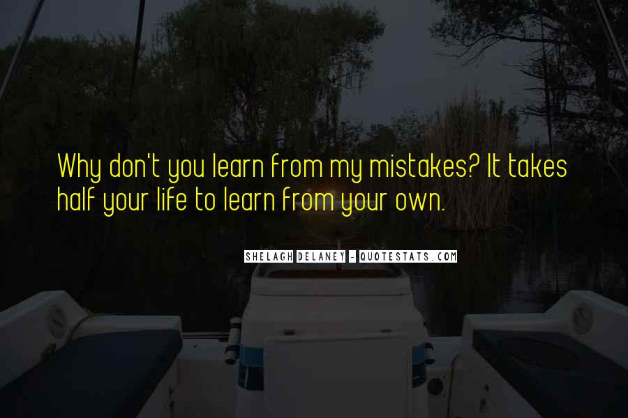 It Only Takes One Mistake Quotes #1075309