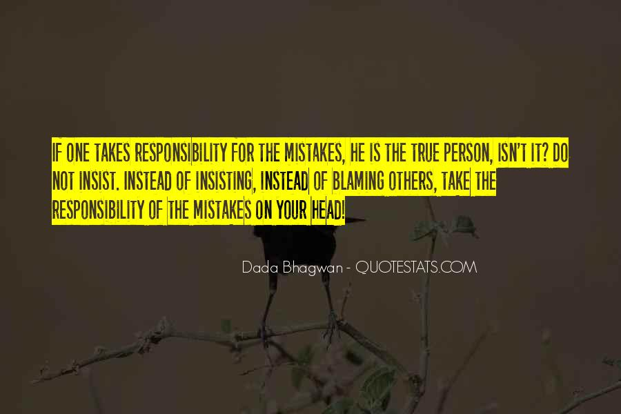 It Only Takes One Mistake Quotes #1435077