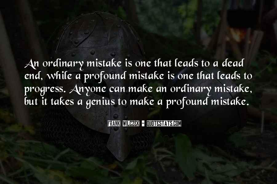 It Only Takes One Mistake Quotes #1582570