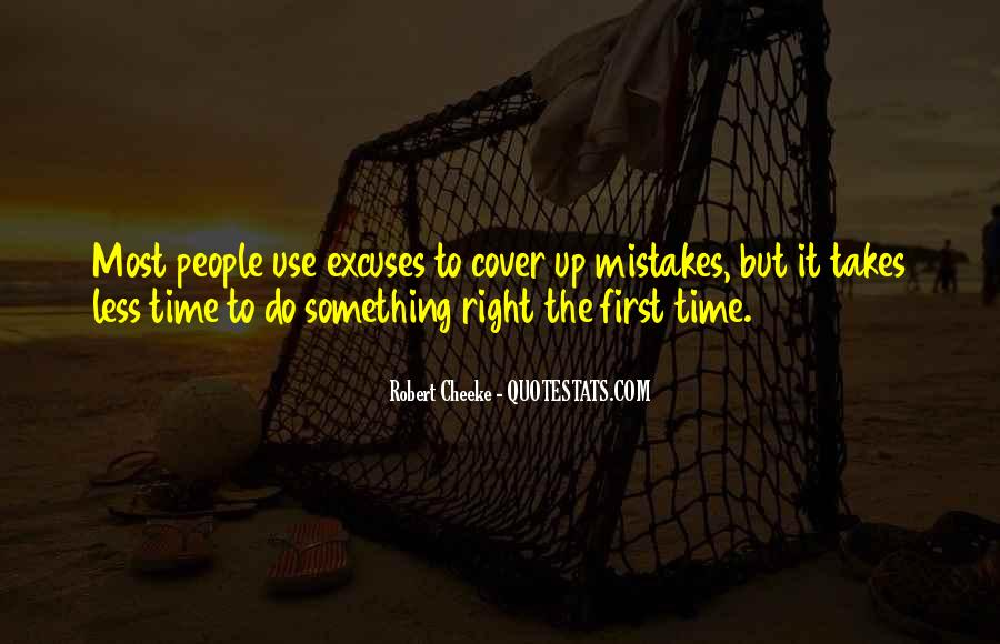 It Only Takes One Mistake Quotes #1640983