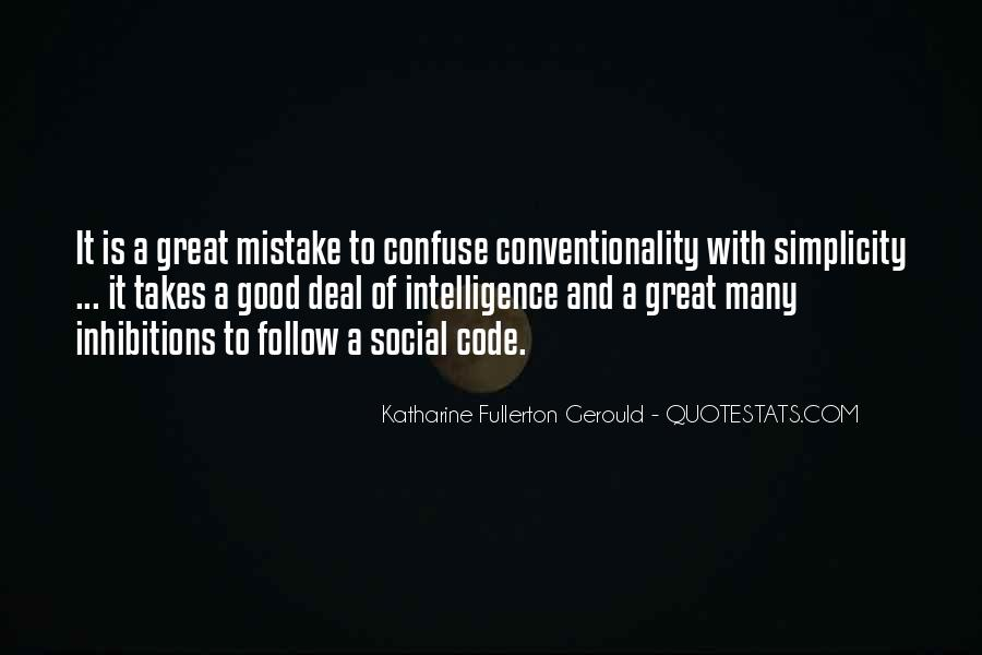 It Only Takes One Mistake Quotes #23190