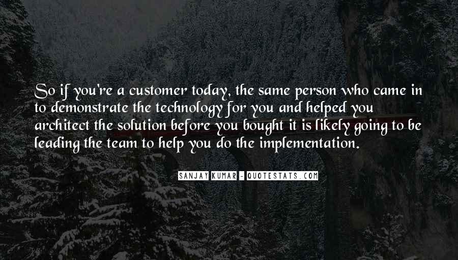 It Solution Quotes #122610