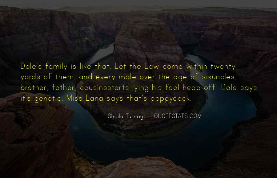 It Starts With Family Quotes #1601273