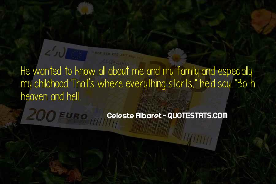 It Starts With Family Quotes #1854399