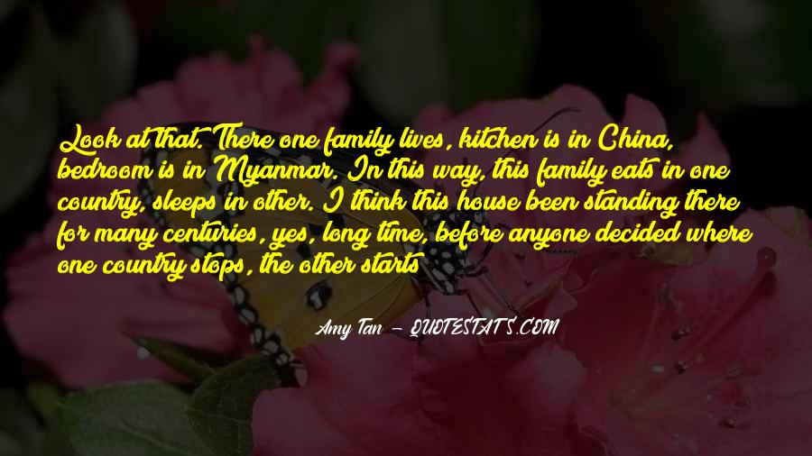 It Starts With Family Quotes #188045