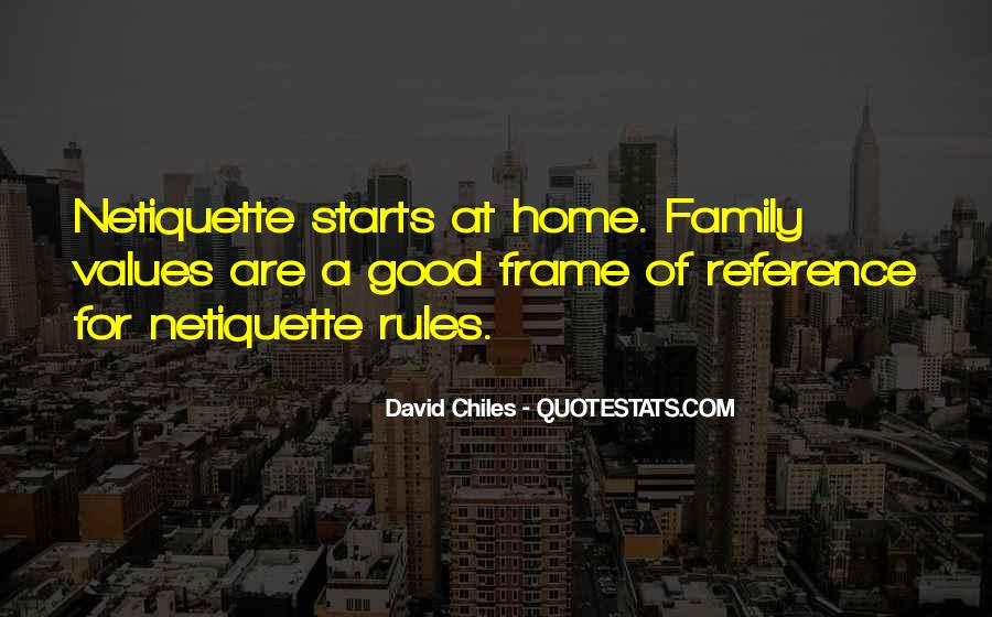 It Starts With Family Quotes #96029