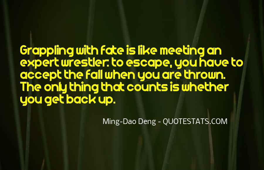 It Was Fate Meeting You Quotes #1230611