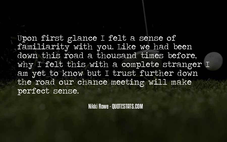 It Was Fate Meeting You Quotes #127338