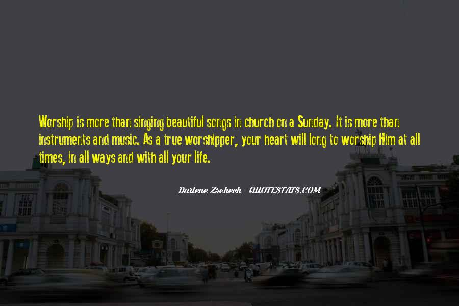It's A Beautiful Sunday Quotes #1760045