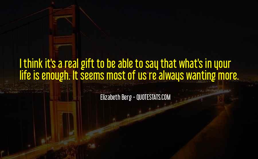 It's A Gift Quotes #289998