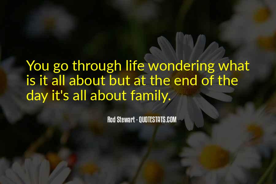 It's All About Family Quotes #1232864