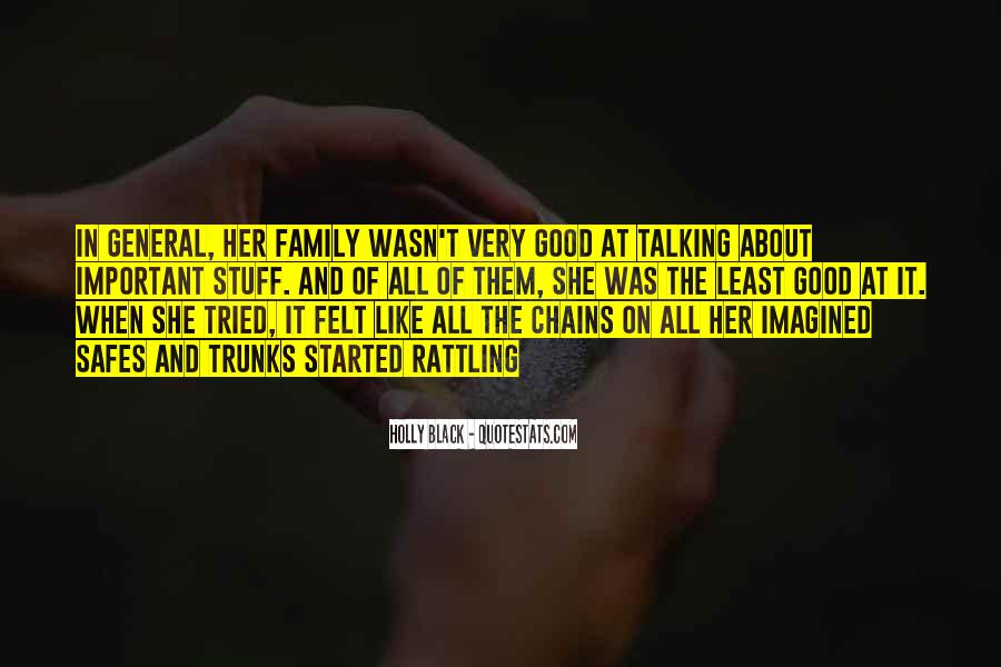 It's All About Family Quotes #143726