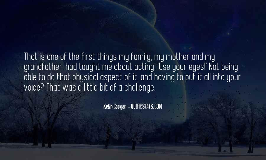 It's All About Family Quotes #317687