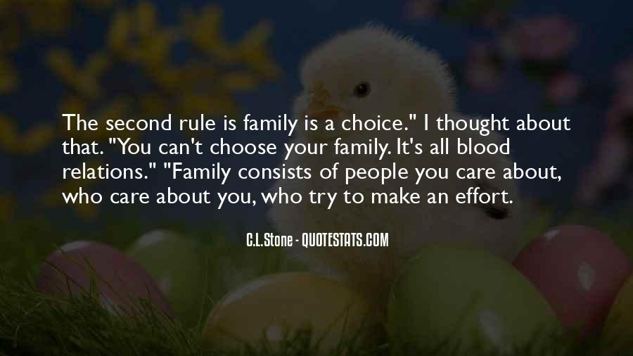 It's All About Family Quotes #542981
