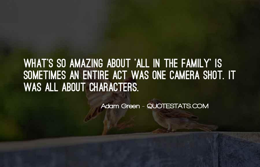 It's All About Family Quotes #593229