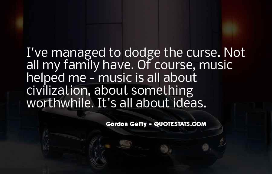 It's All About Family Quotes #610347