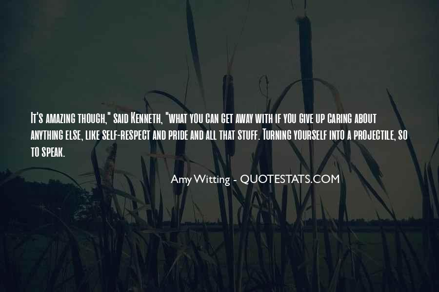 It's All About Respect Quotes #668696