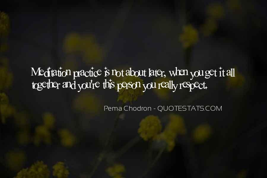 It's All About Respect Quotes #686822