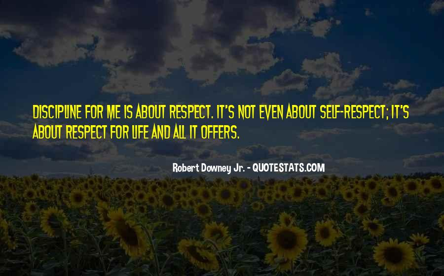 It's All About Respect Quotes #699477
