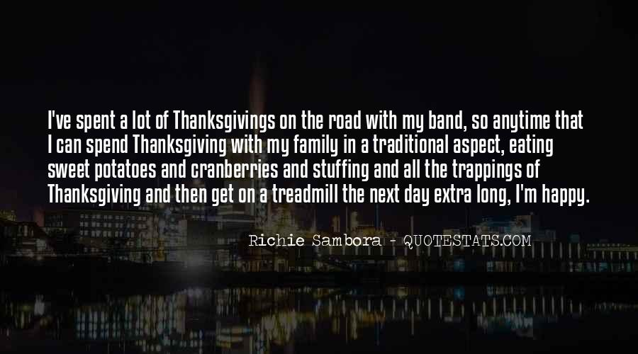 Quotes About Family On Thanksgiving #1425177