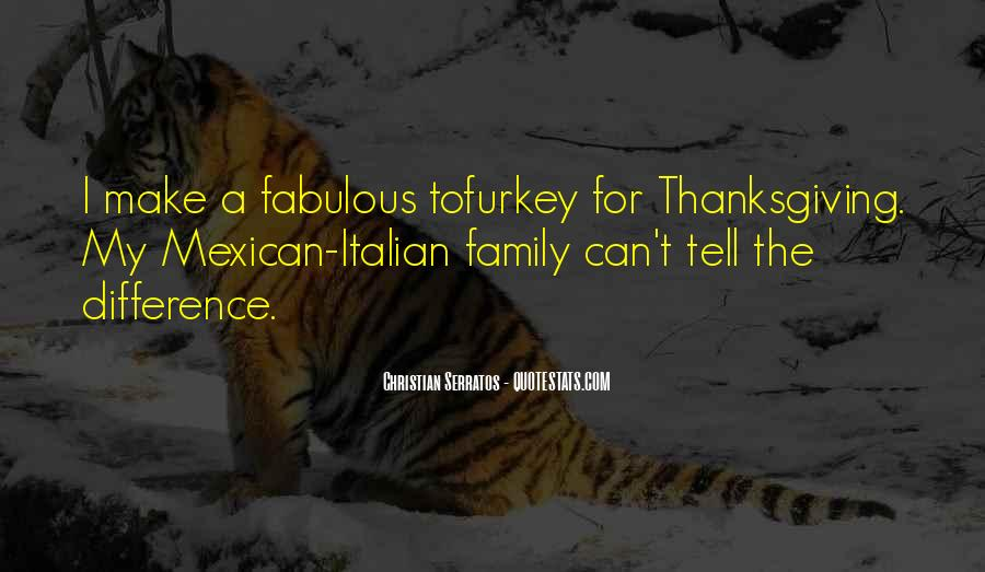 Quotes About Family On Thanksgiving #538208