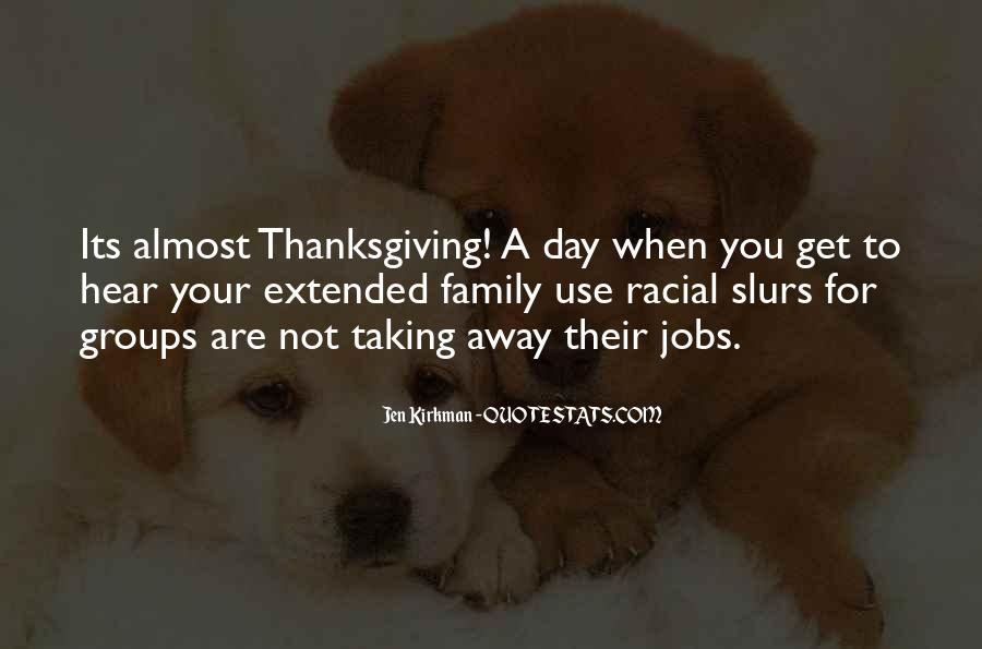 Quotes About Family On Thanksgiving #904229