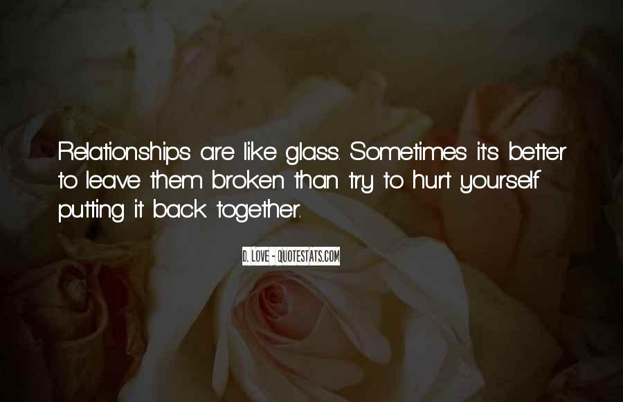 It's Better To Love Yourself Quotes #1454438