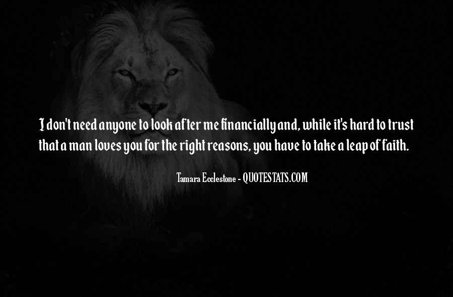 It's Hard Trust Quotes #1197454
