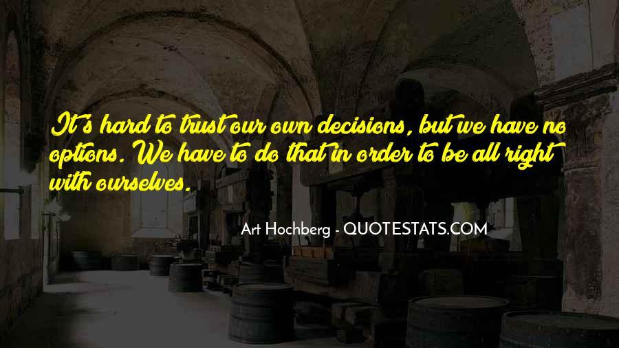 It's Hard Trust Quotes #1209057