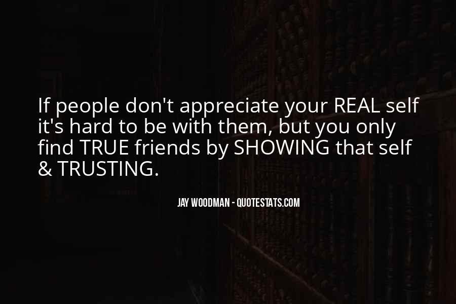 It's Hard Trust Quotes #1480476