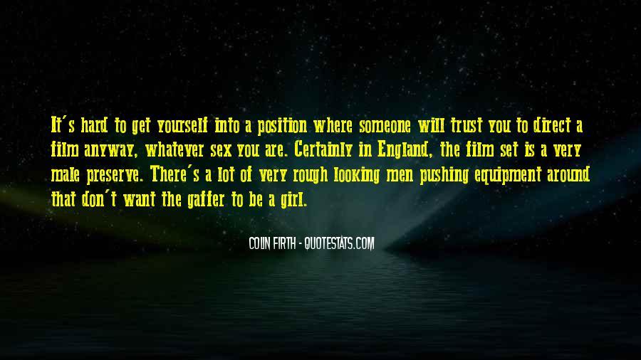 It's Hard Trust Quotes #1672493