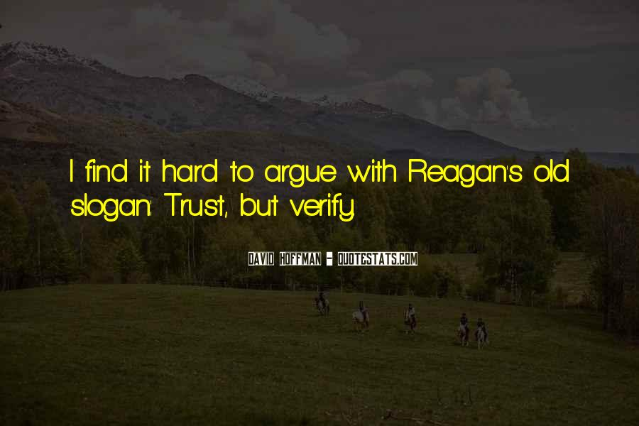 It's Hard Trust Quotes #1693529