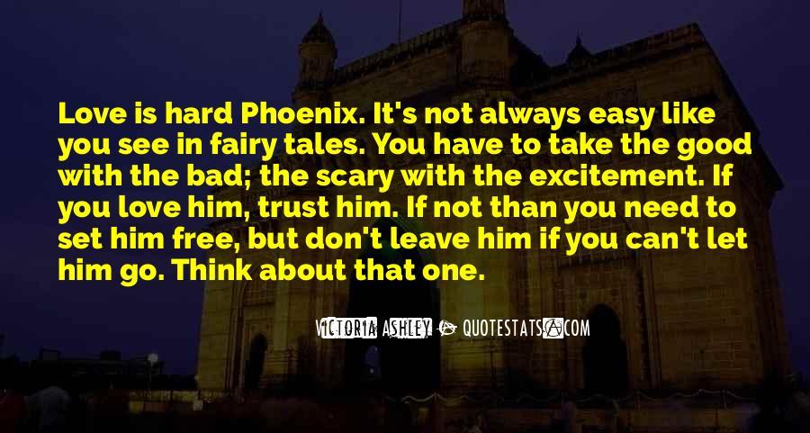 It's Hard Trust Quotes #1694357