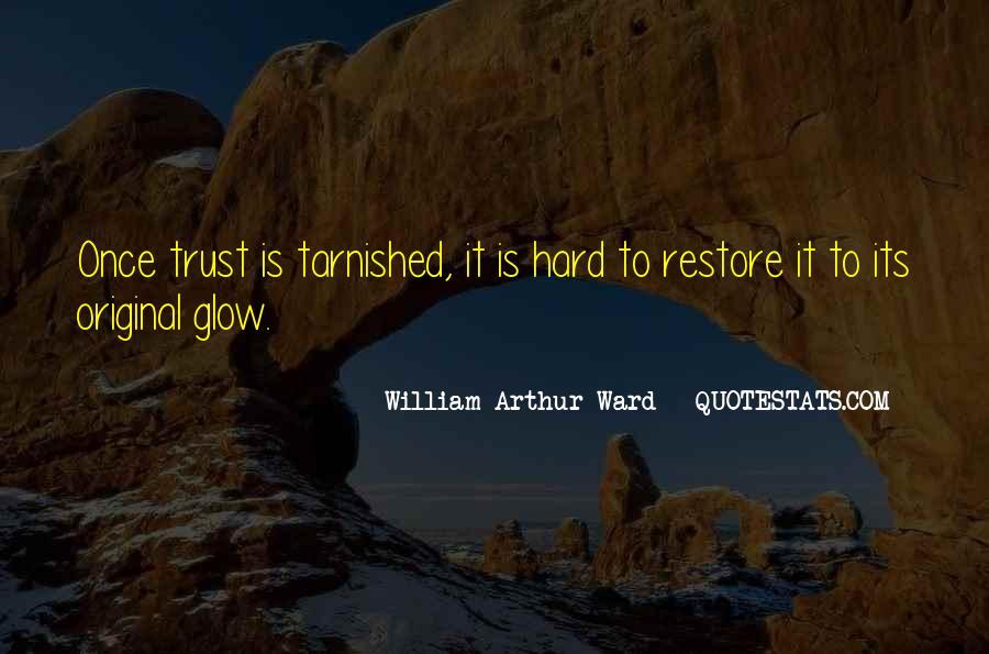 It's Hard Trust Quotes #1818591
