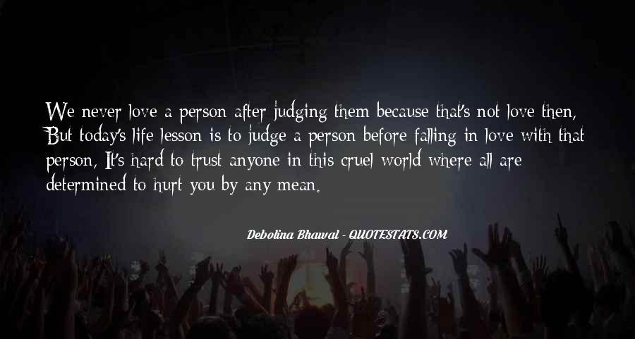 It's Hard Trust Quotes #261770