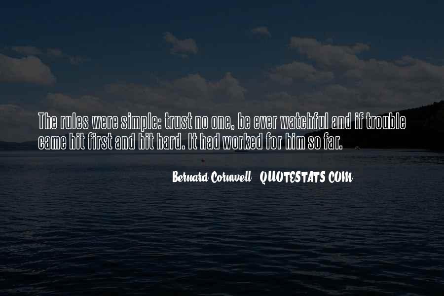 It's Hard Trust Quotes #295560