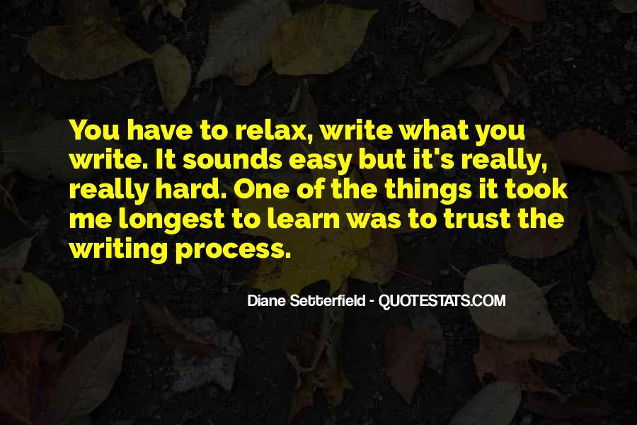 It's Hard Trust Quotes #326847