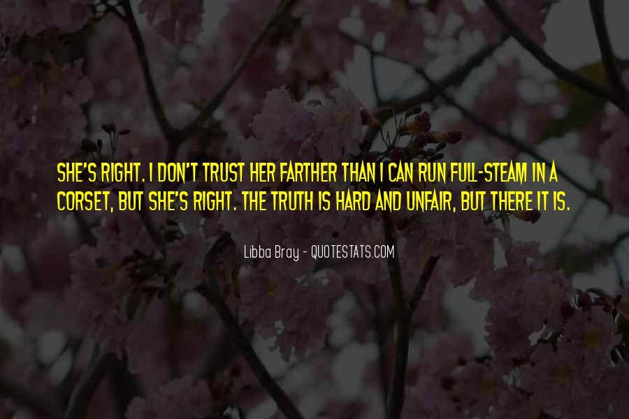 It's Hard Trust Quotes #432803