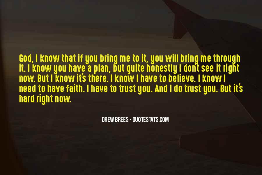 It's Hard Trust Quotes #593917