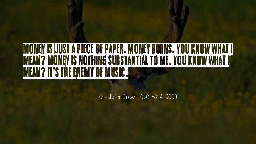 It's Just Money Quotes #176240